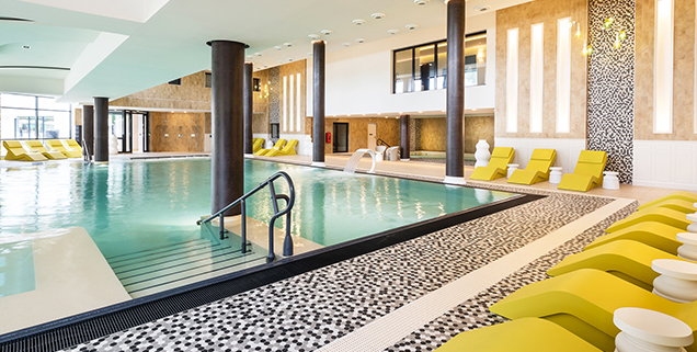 piscine et spa thalazur à Arcachon