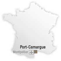 map Découvrez Port Camargue, au cœur de <br> l'Occitanie
