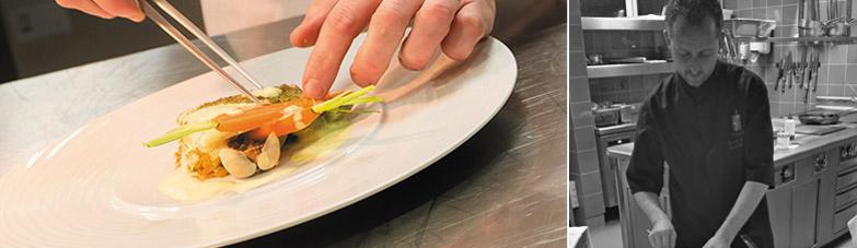 Le chef Cédric Launay et ses recettes