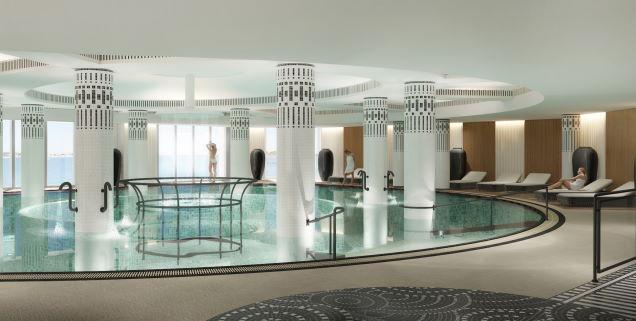 piscine et spa thalazur à Saint-Jean-de-Luz