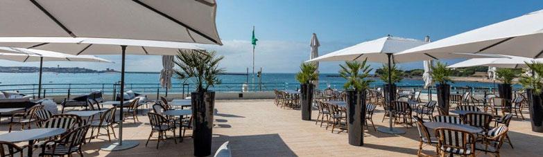 Le restaurant & bar lounge L'Atlantique à Saint-Jean-de-Luz