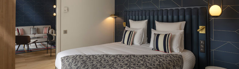 Saint jean de Luz_suite junior_Hotel Heliantal