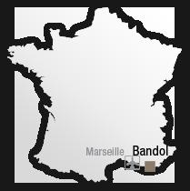 map Destination Bandol