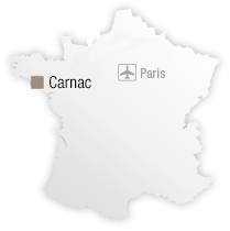 map Destination Carnac