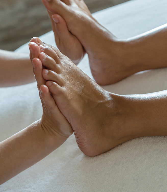 Beauté des pieds (55')