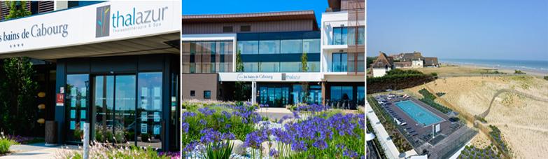 L'établissement hôtel les bains de Cabourg