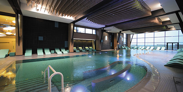 piscine et spa thalazur à Cabourg