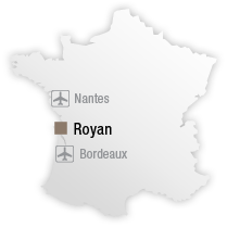 map Location of Courdouan Hotel