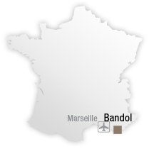 map Destination Bandol