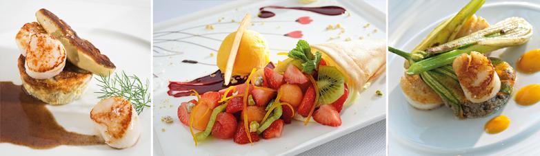 Cartes et menus du Riva-Bella