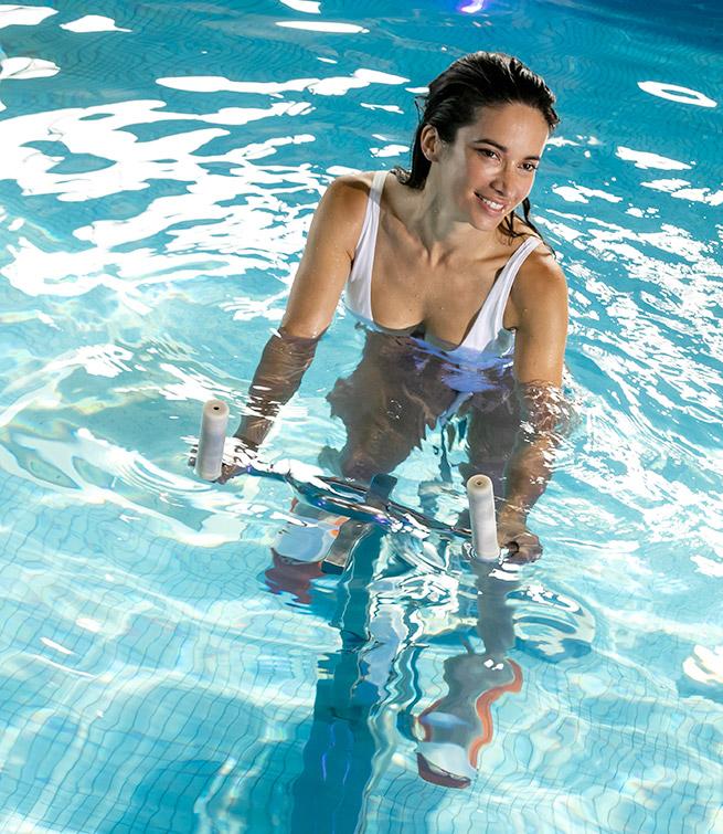 5 Séances d'Aquabiking