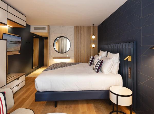 Photo des chambres de Saint-Jean-de-Luz